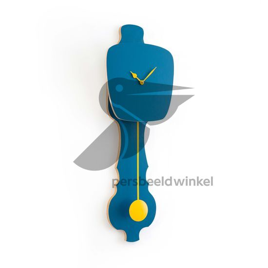 Nieuw: KLOQ small, Petrol Blue/Cadmium Yellow
