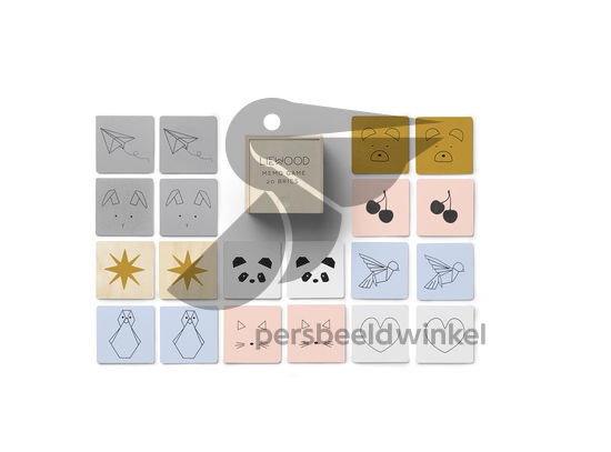 Houten Memory Game - Mix