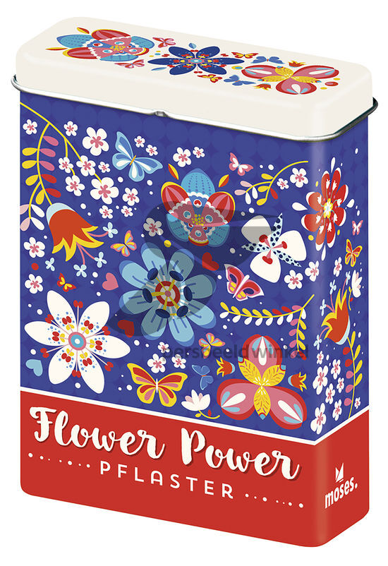 Verlag Flower Power Pleisters