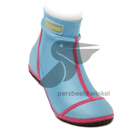 Beachsocks bleu bleu rose