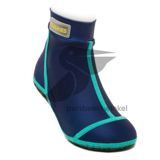 Beachsocks navy navy emerald