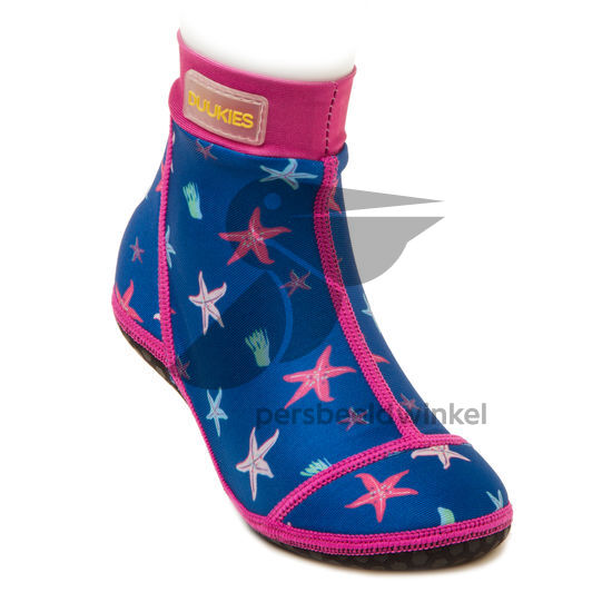 Beachsocks seastarkobalt fuchsia