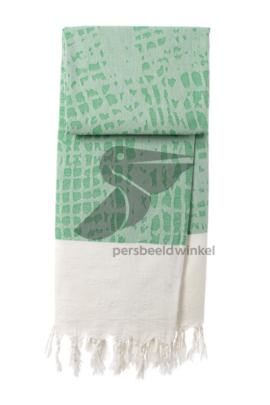 Hammamdoek Graphic Snake - Green