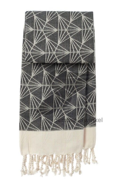 Hammamdoek Triangel - Black