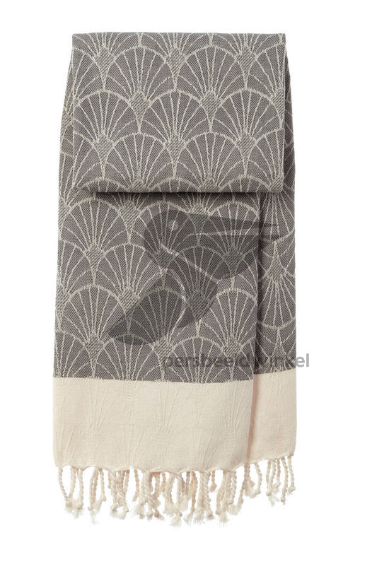 Hammamdoek Wave - Dark grey