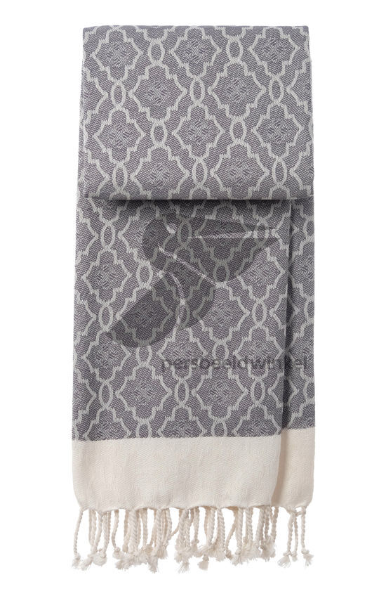 Hammamdoek Mosaic - Dark Grey