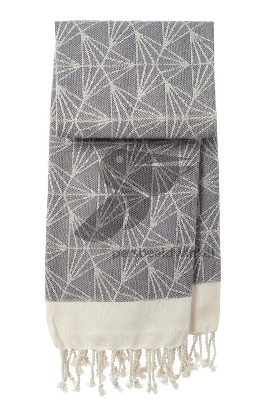 Hammamdoek Triangel - Dark grey