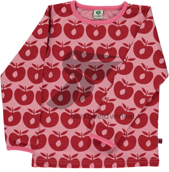 Longsleeve Apples Red