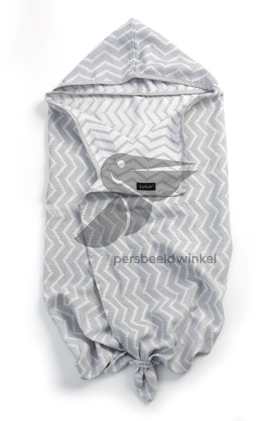 Blenker Hooded Towel (M) - Silver Grey