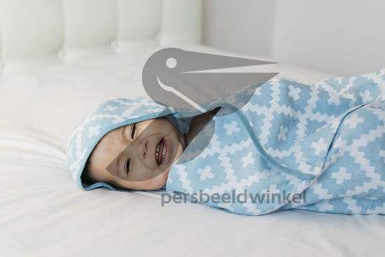 Blenker Hooded Towel (M) - Blue
