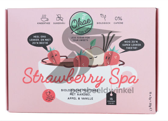 Strawberry Spa - Voorkant