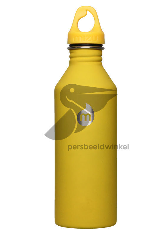 M8 RVS bidon 800 ml Geel