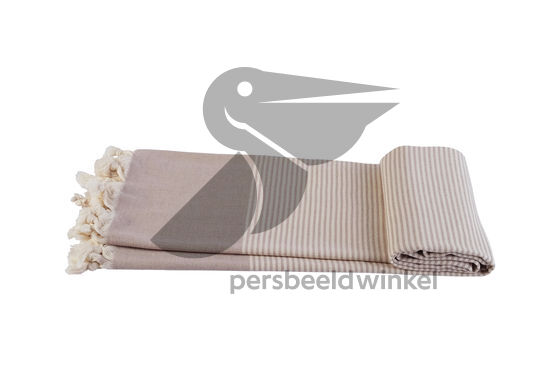 Hamamdoek Traveler - Beige Grey