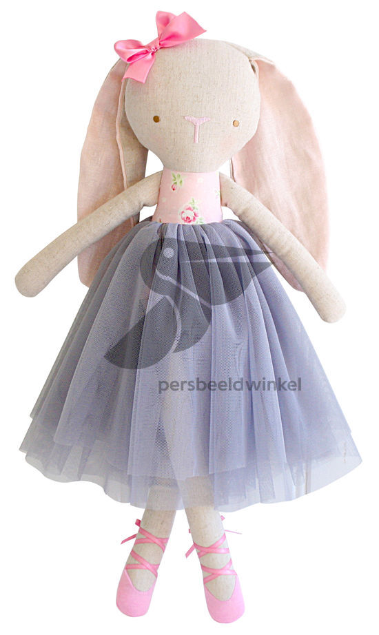 Billy Ballet Bunny Rose Grey