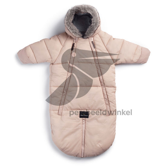 Car Seat Overall powder pink