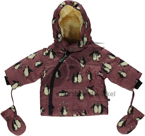 Baby Winter Jacket Pinguin Mesa Rose