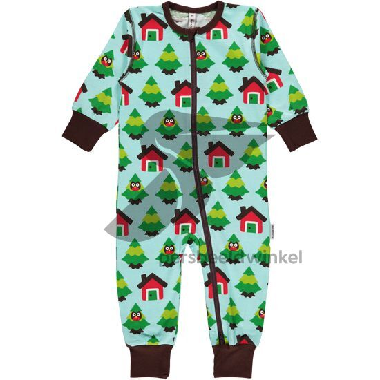 Maxomorra Jumpsuit Forest